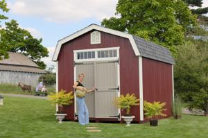 Colonial Woodbury Barn Kit by Little Cottage Co.